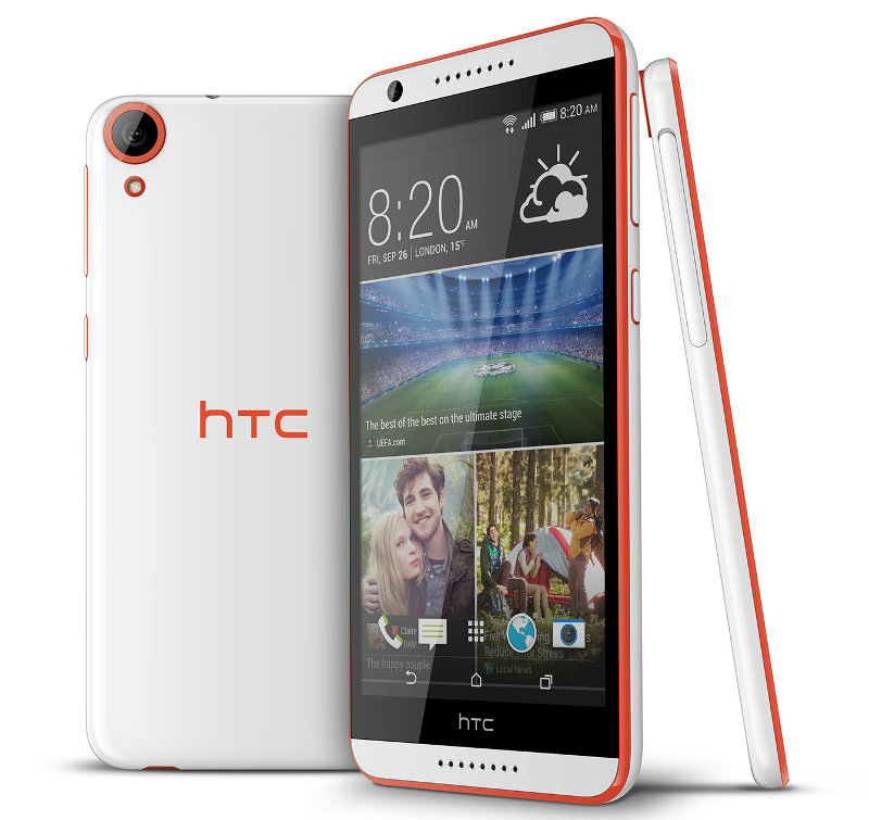 HTC Desire 820 with 5.5-inch HD display, Octa-Core ...