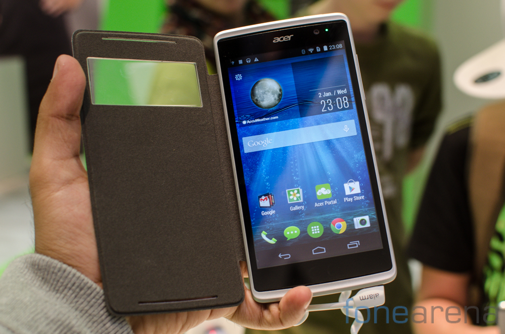 Acer Liquid Z500 Hands On And Photo Gallery