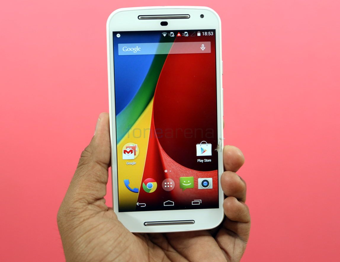 Moto G 2nd Generation White Colour