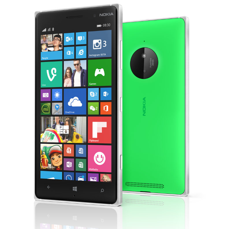 Nokia Lumia 830 With 10mp Pureview Camera With Ois Announced