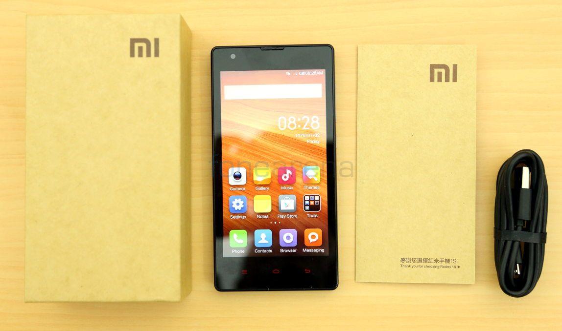 Xiaomi Redmi 1s Unboxing