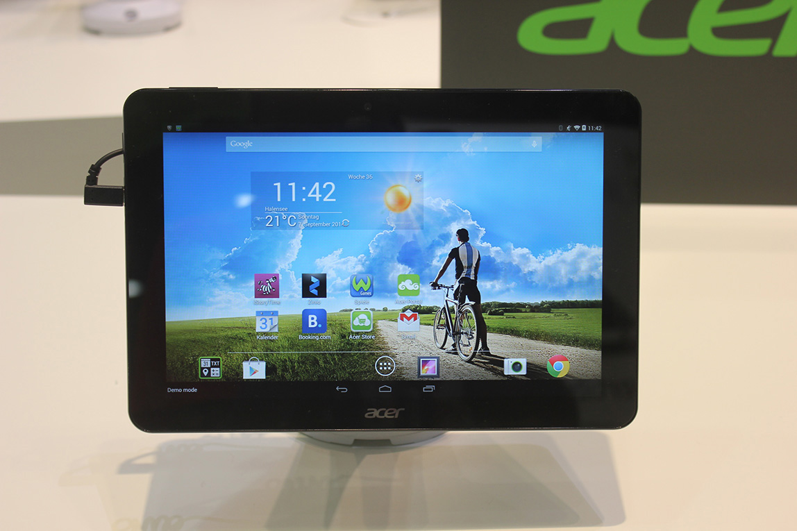 acer iconia tab 10 a3 a20 hands on and photo gallery. Black Bedroom Furniture Sets. Home Design Ideas