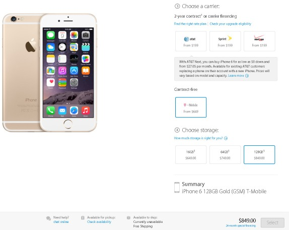 iphone 6 64gb pris kontant
