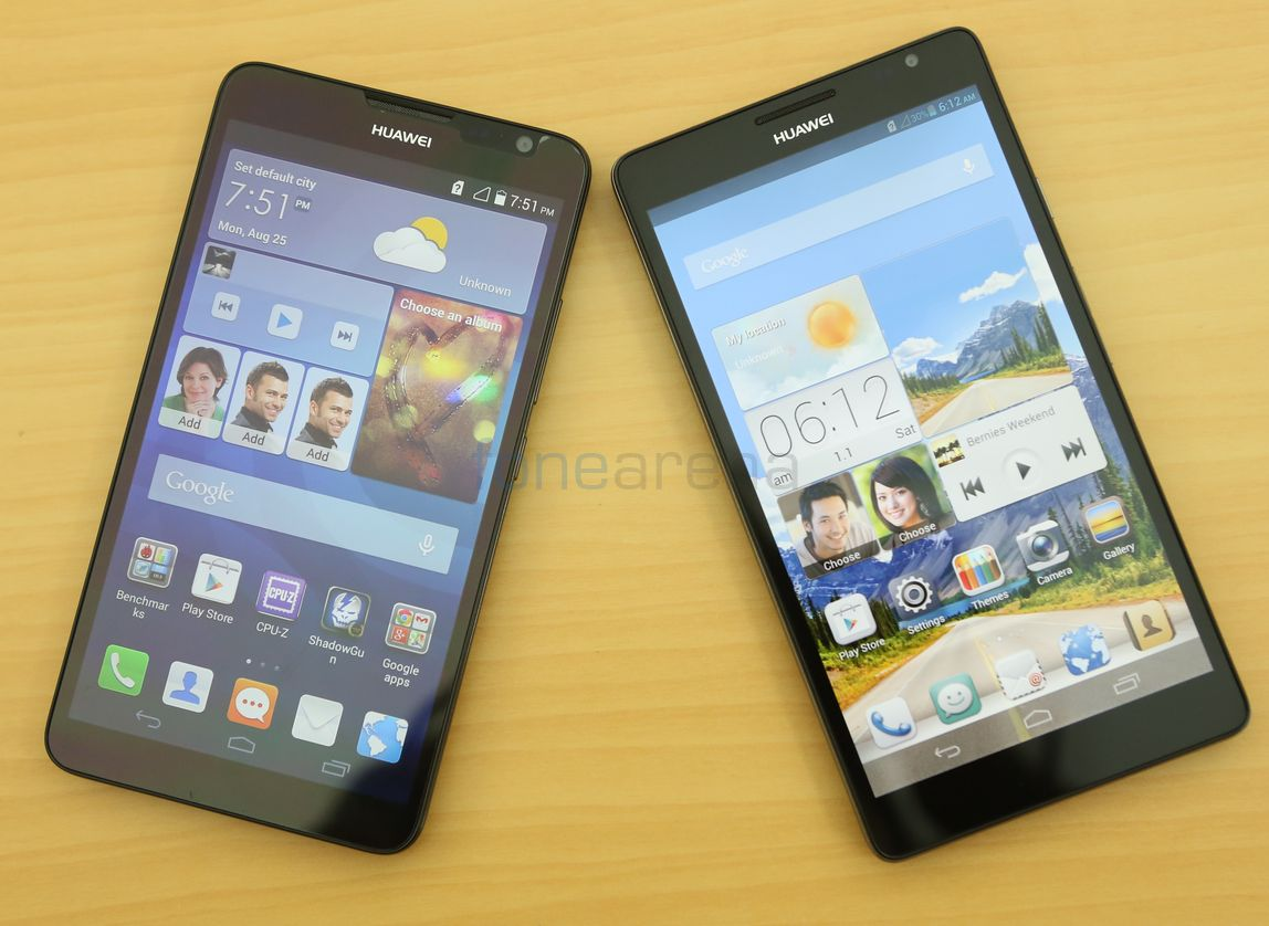 Huawei Ascend Mate 2 vs Ascend Mate Photo Gallery
