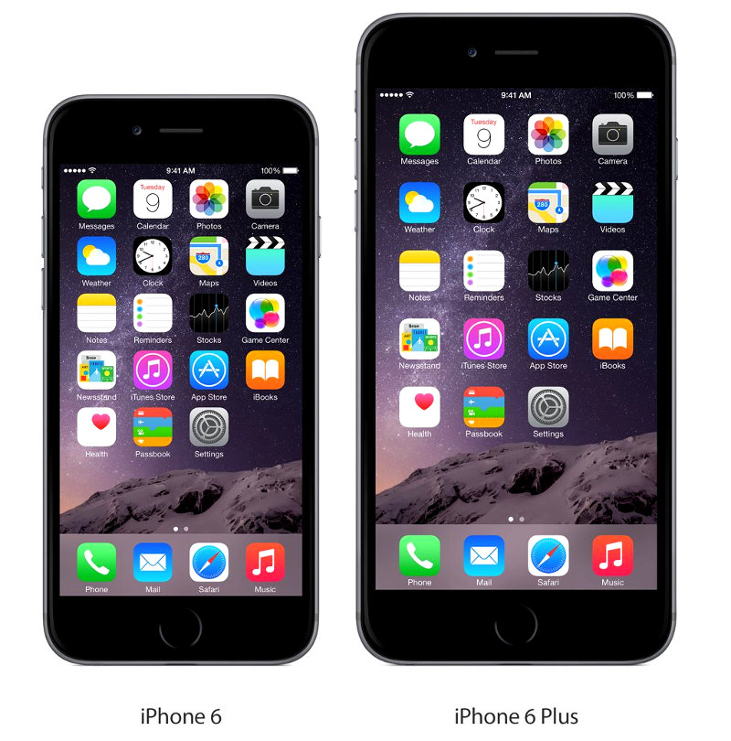 apple iphone 6 vs iphone 6 plus whats the difference