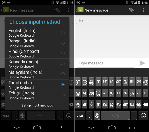 google keyboard v3 2 update adds 8 languages including tamil telugu