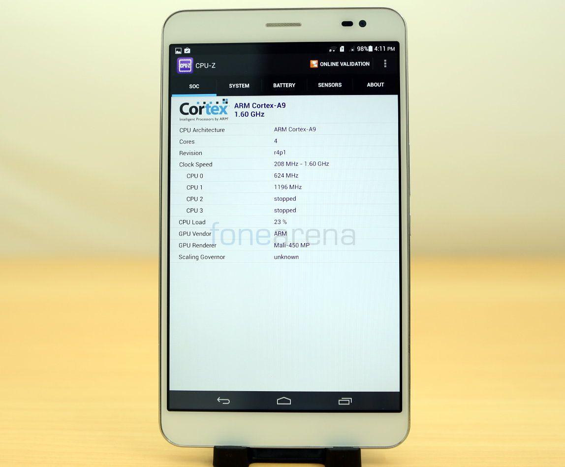 Huawei Honor X1 Benchmarks_fonearena