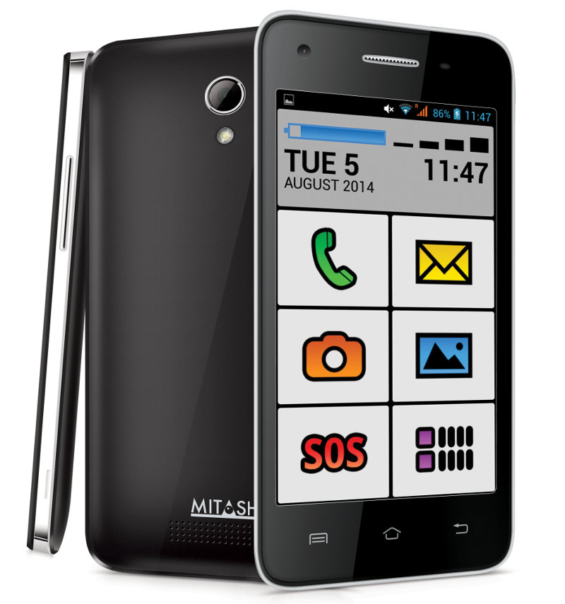 Phones For The Elderly: Mitashi PLAY Senior Friend Android Smartphone For Senior