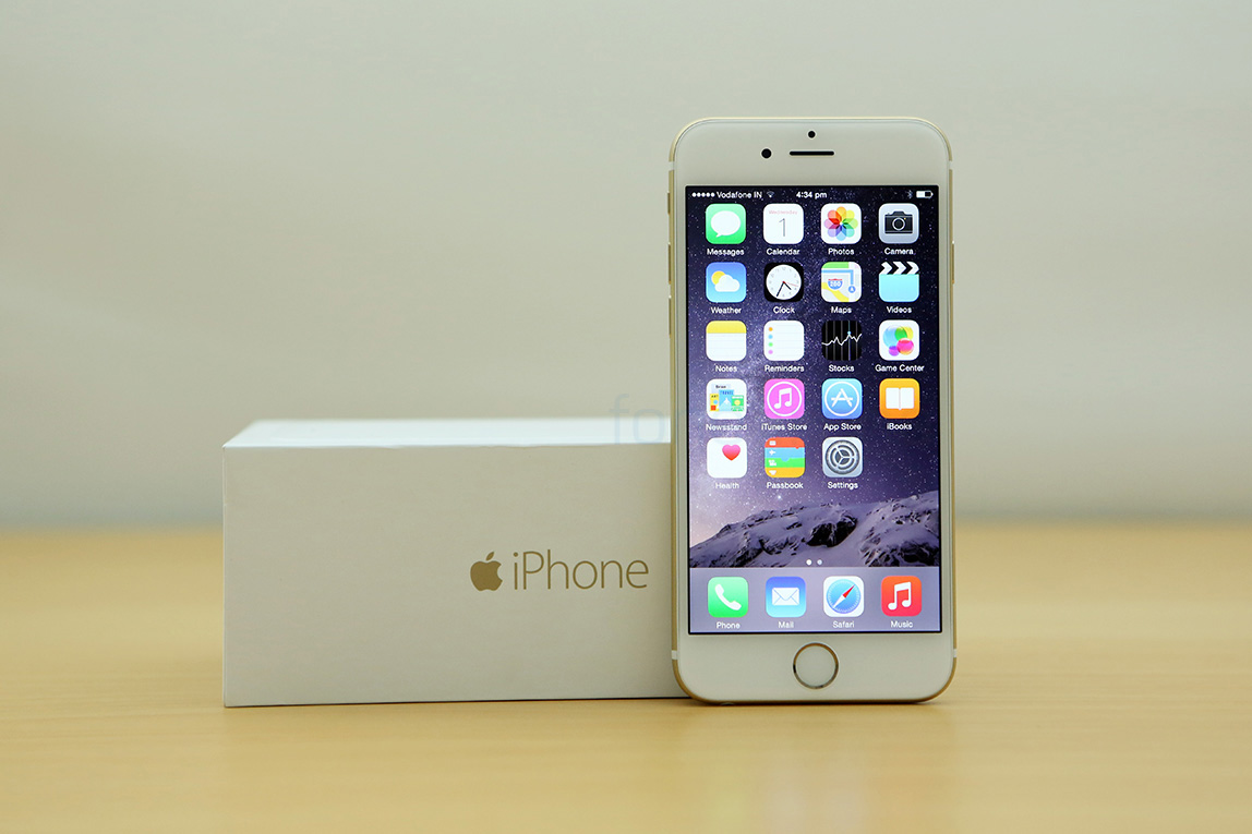 apple iphone 6 unboxing and first impressions. Black Bedroom Furniture Sets. Home Design Ideas