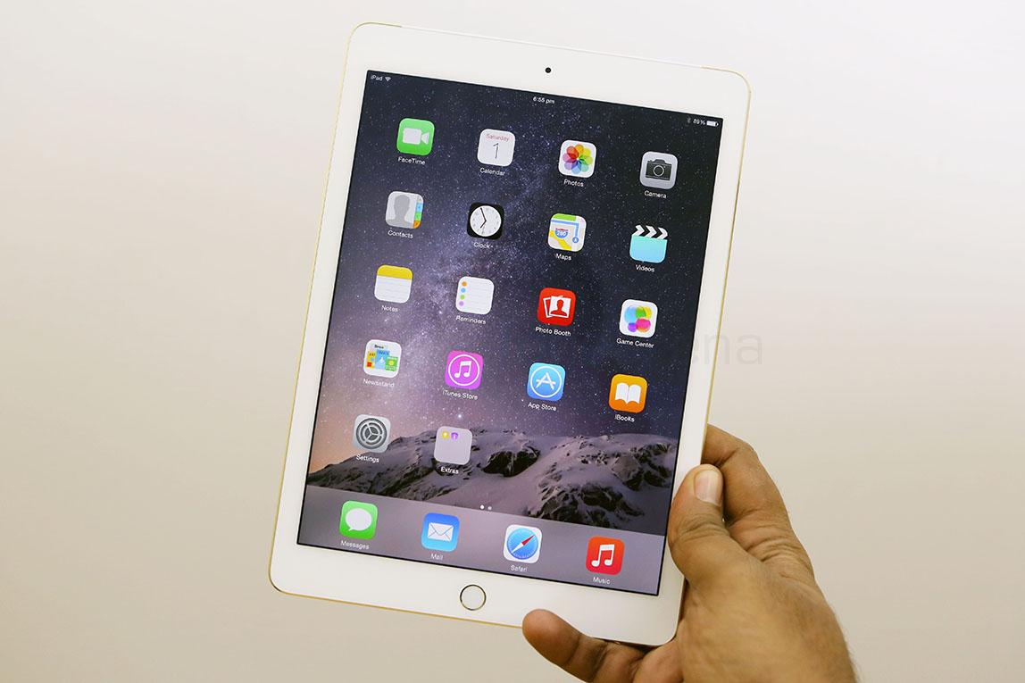 how to use apple ipad air