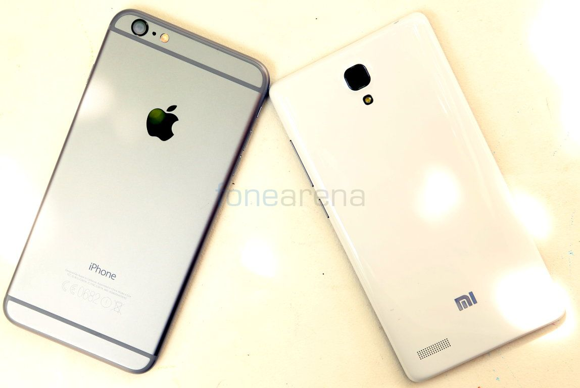Apple Iphone 6 Plus Vs Xiaomi Redmi Note Photo Gallery