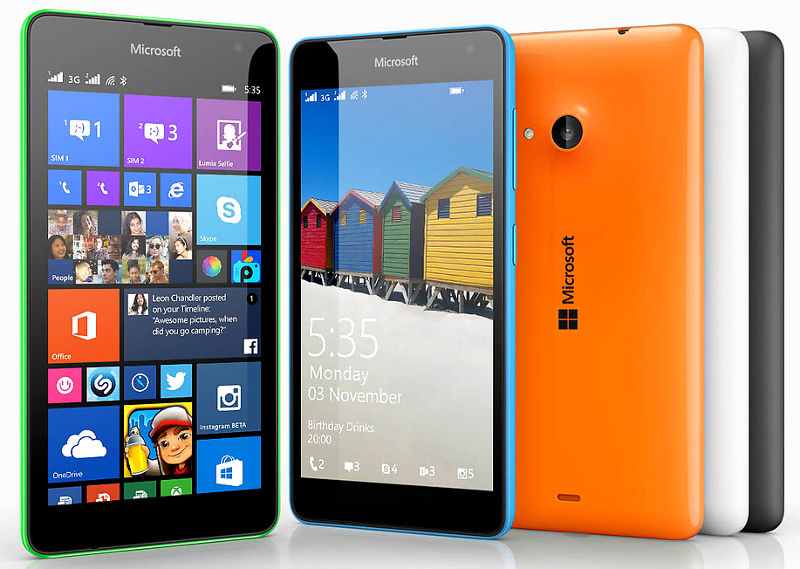 Microsoft Lumia 535 now available in the UK