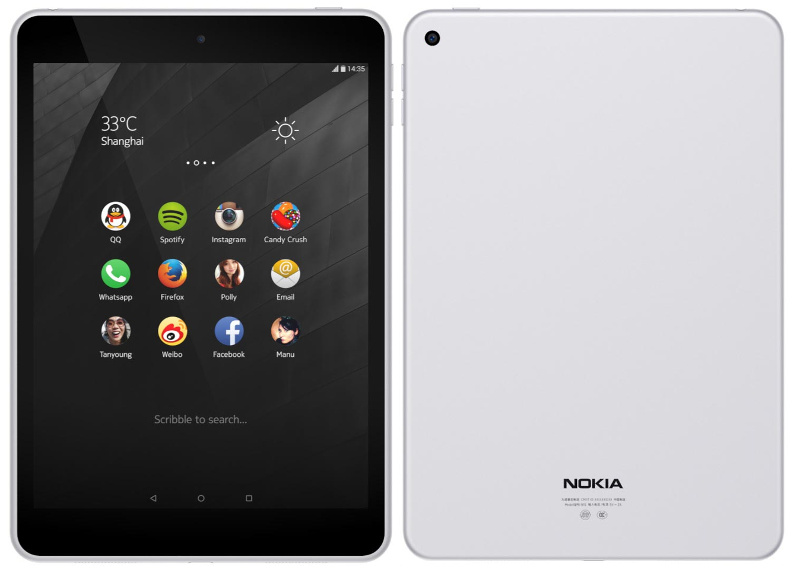 Nokia N1 tablet with 7.9-inch (2048 × 1536) display ...