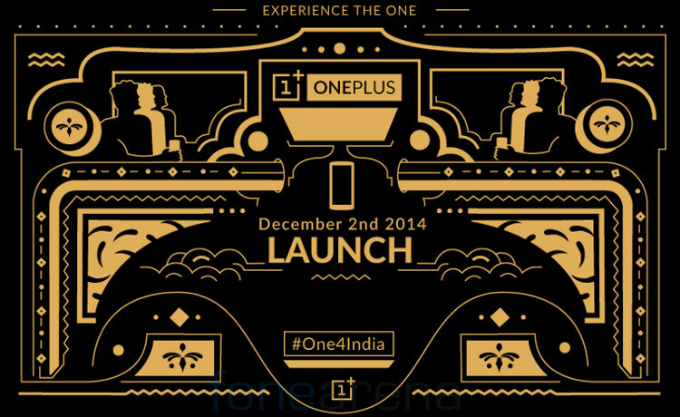 OnePlus One India launch invite