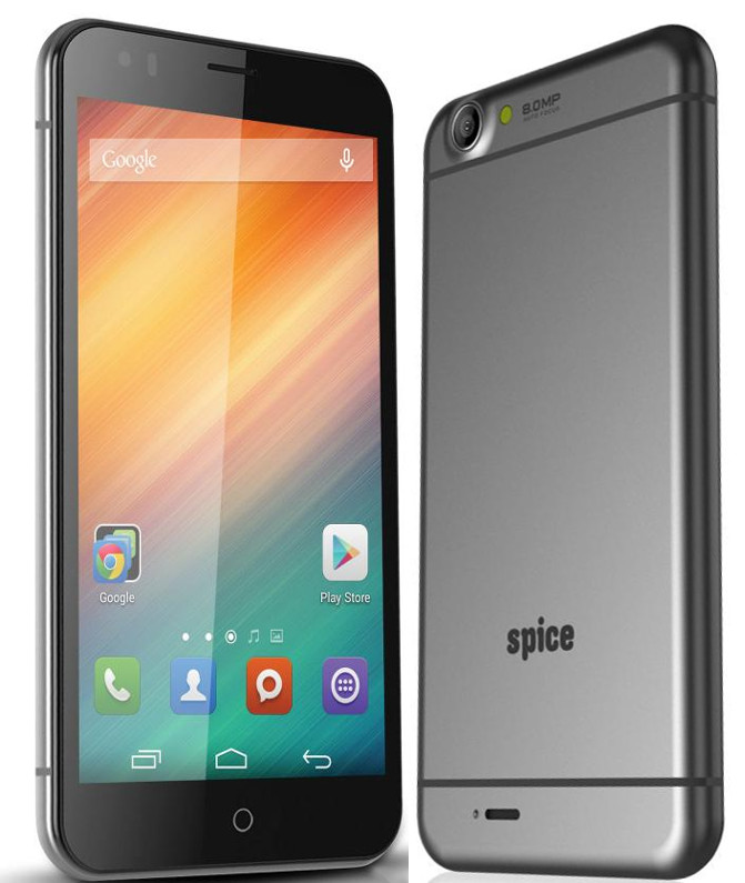spice mi 549 with 5 5 inch 1080p display android 4 4 listed online