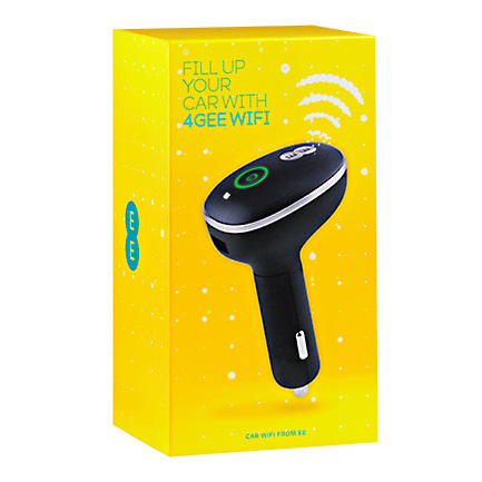 EE launches Buzzard 2 4G Car Wi-Fi solution