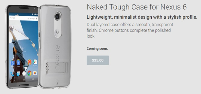 Nexus 6 Stand Folio and Tough Case coming soon on Google Play Store