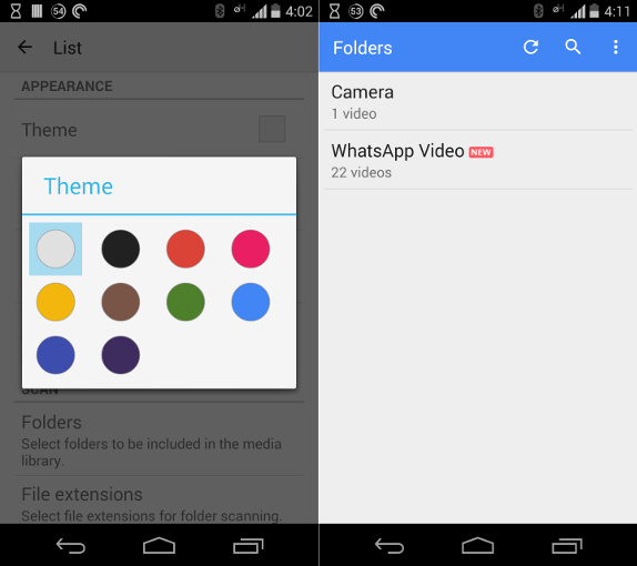 MX Player for Android updated with Material Design, New ...