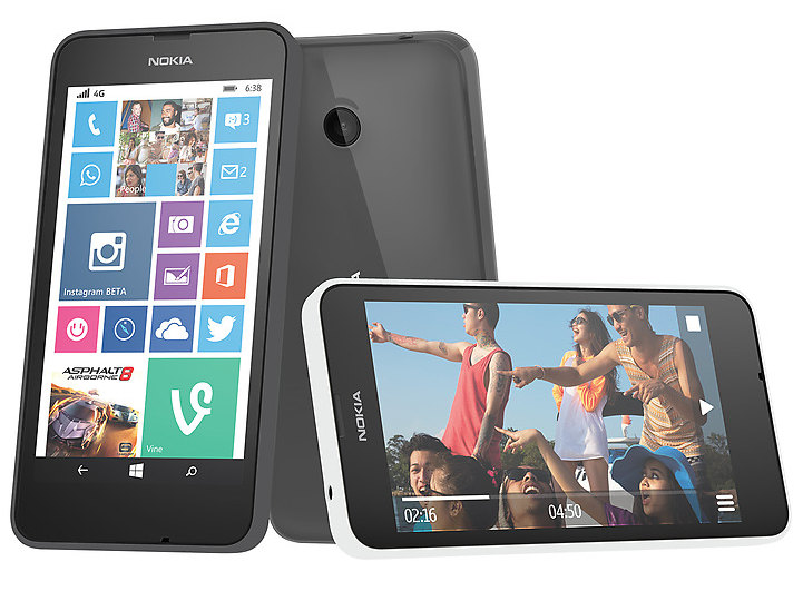 nokia 4g phones. nokia lumia 638 with quad-core snapdragon 400 soc and 4g lte launched in india for rs. 8299 4g phones