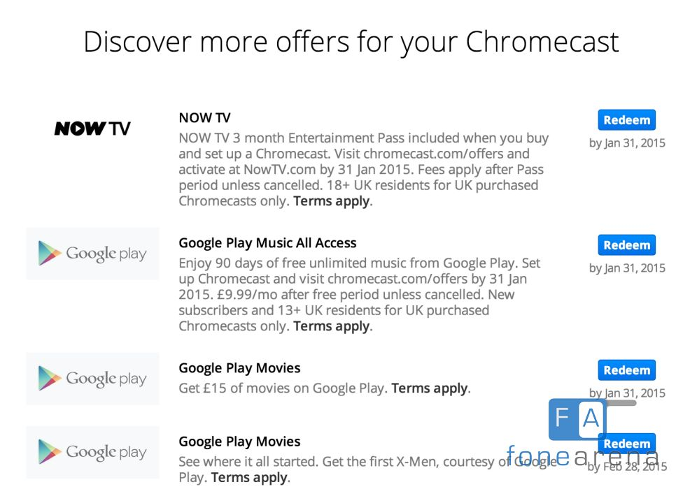 Best chromecast deals uk