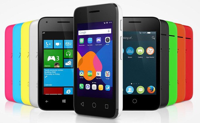 Alcatel OneTouch PIXI 3 series with Firefox, Windows Phone or Android options announced