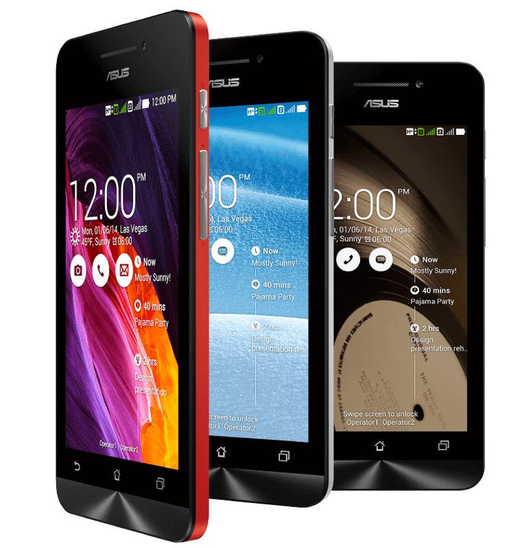 Asus Zenfone C With 4 5 Inch Display Dual Core Intel Atom