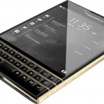 BlackBerry Passport Black and Gold