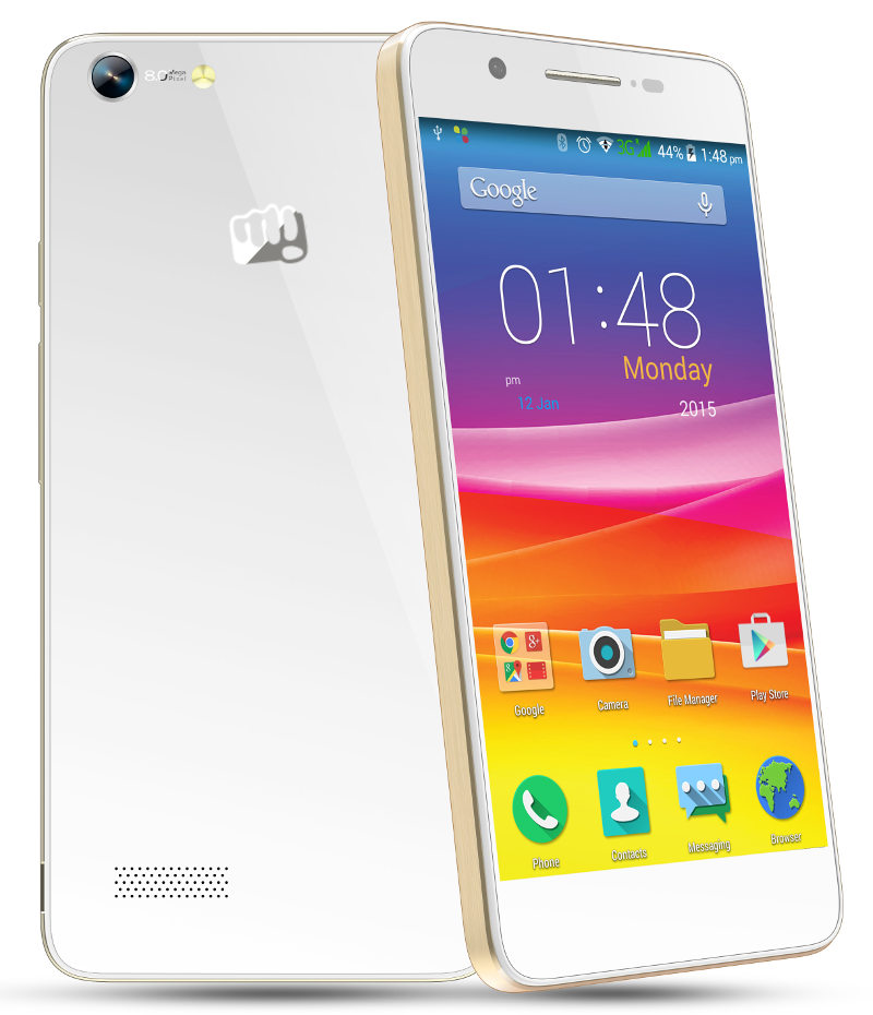 Micromax Canvas Hue With 5-inch HD AMOLED Display, 3000mAh