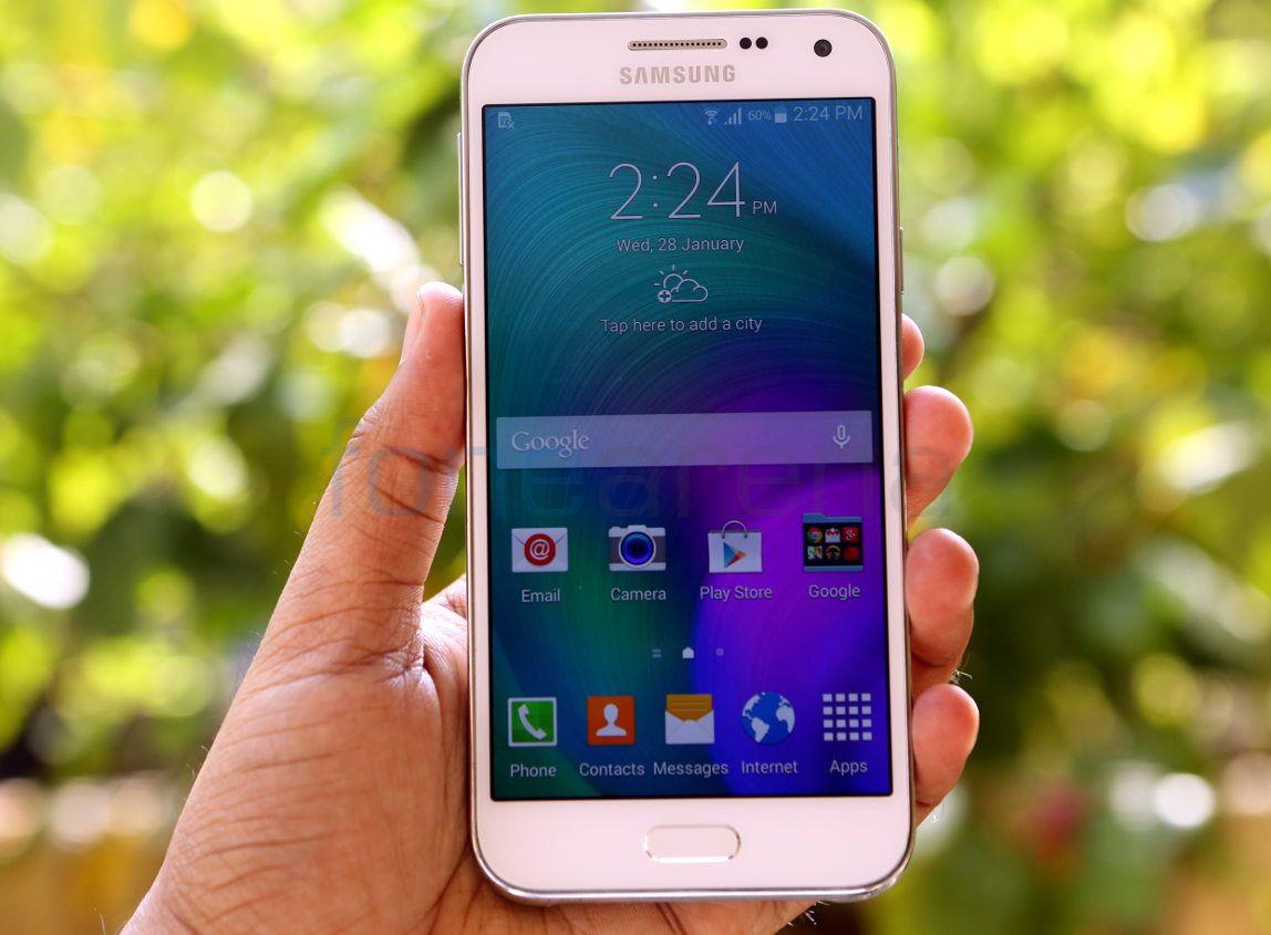 Samsung Galaxy E7 Photo Gallery