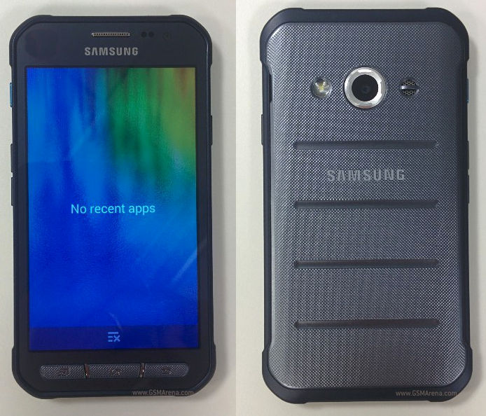 Samsung Galaxy Xcover 3 rugged smartphone live images surface