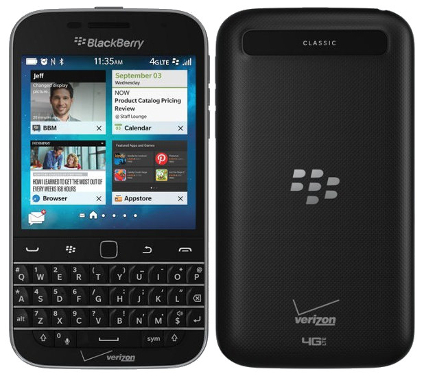 blackberry classic non camera variant introduced