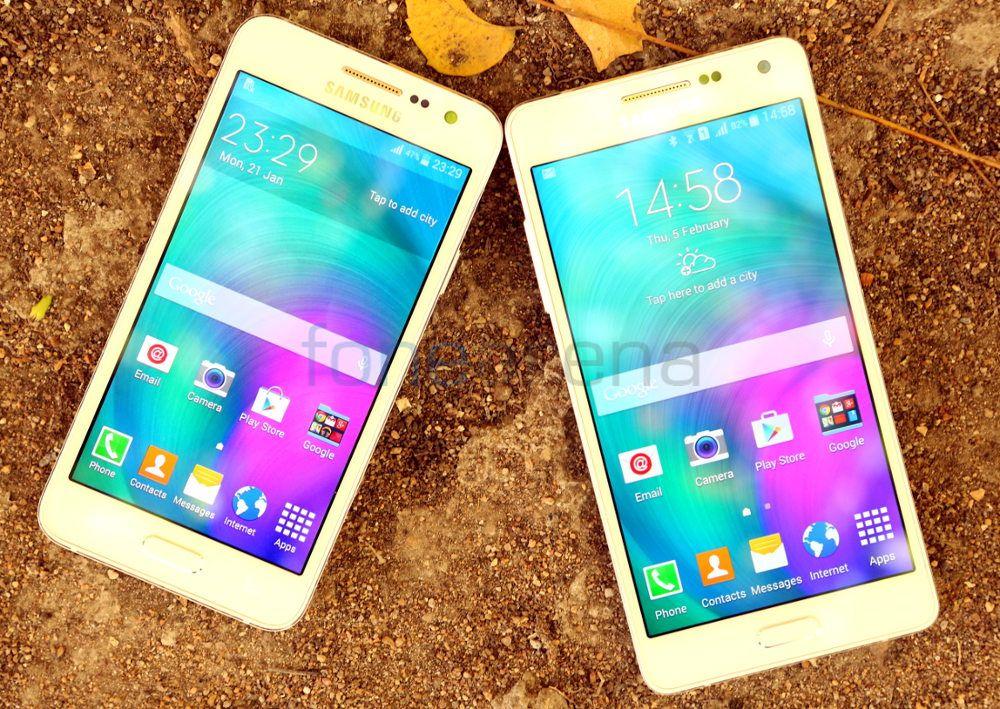 Samsung Galaxy A3 vs Galaxy A5 Photo Gallery