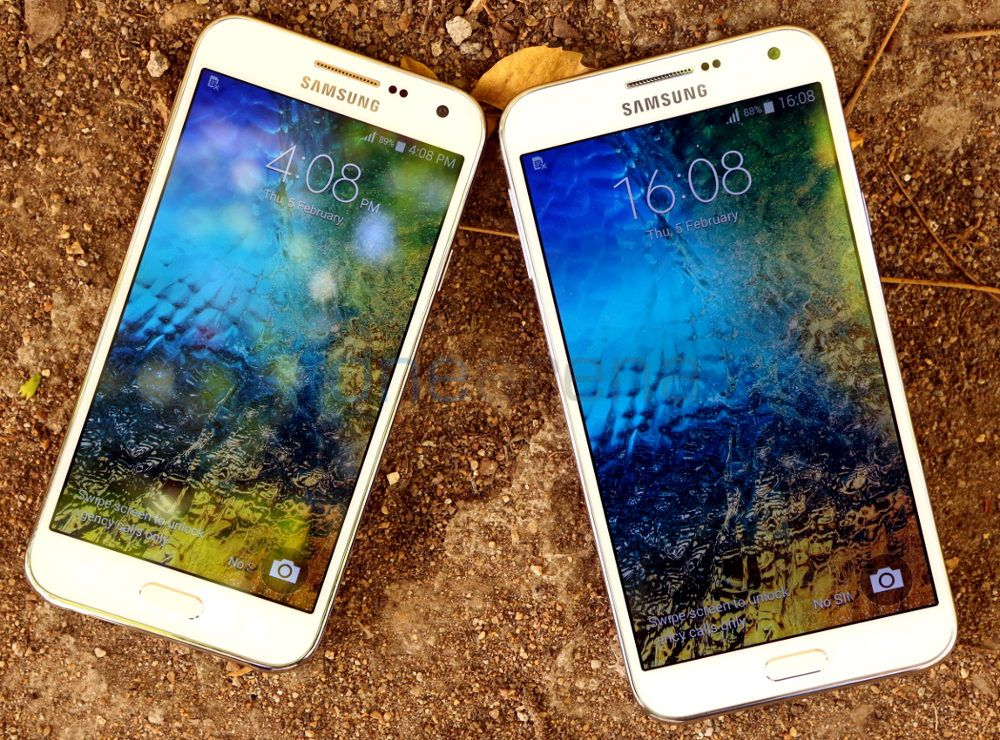 Samsung Galaxy E5 vs Samsung Galaxy E7 Photo Gallery