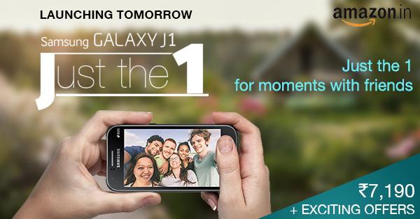 Samsung Galaxy J1 launching in India on Amazon on Feb 11th