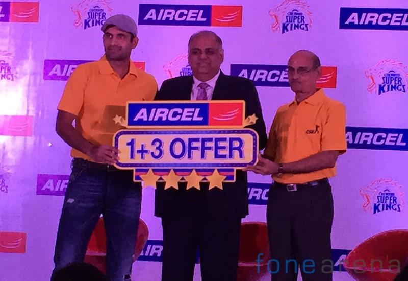 Aircel 3 Plus 1 launch
