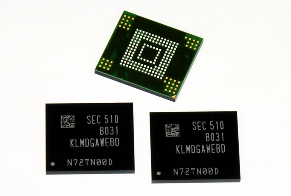 Samsung introduces 128GB 3-bit eMMC 5.0 flash memory for ...