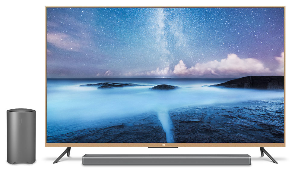 xiaomi introduces mi tv 2 55 inch 4k smart tv. Black Bedroom Furniture Sets. Home Design Ideas