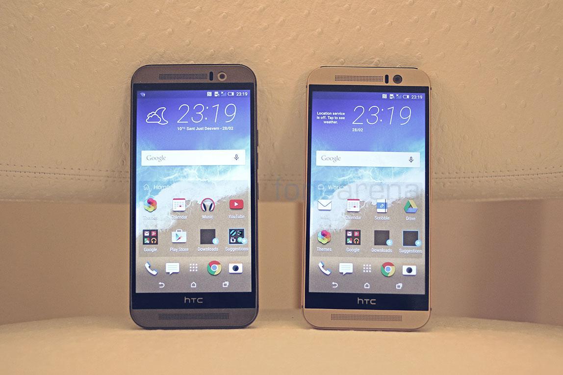 HTC One M9 Silver Gold vs Gunmetal Grey Photo Gallery