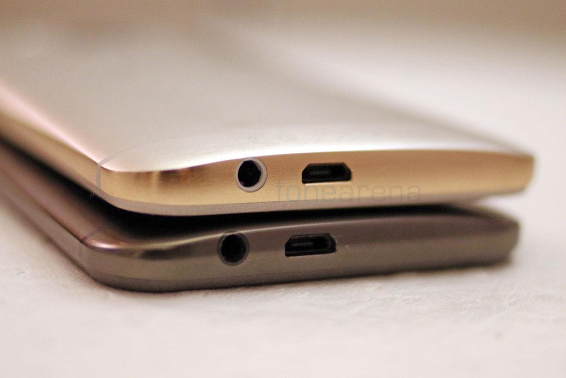htc one m9 gold. htc-one-m9-silver-gold-vs-gunmetal-grey- htc one m9 gold