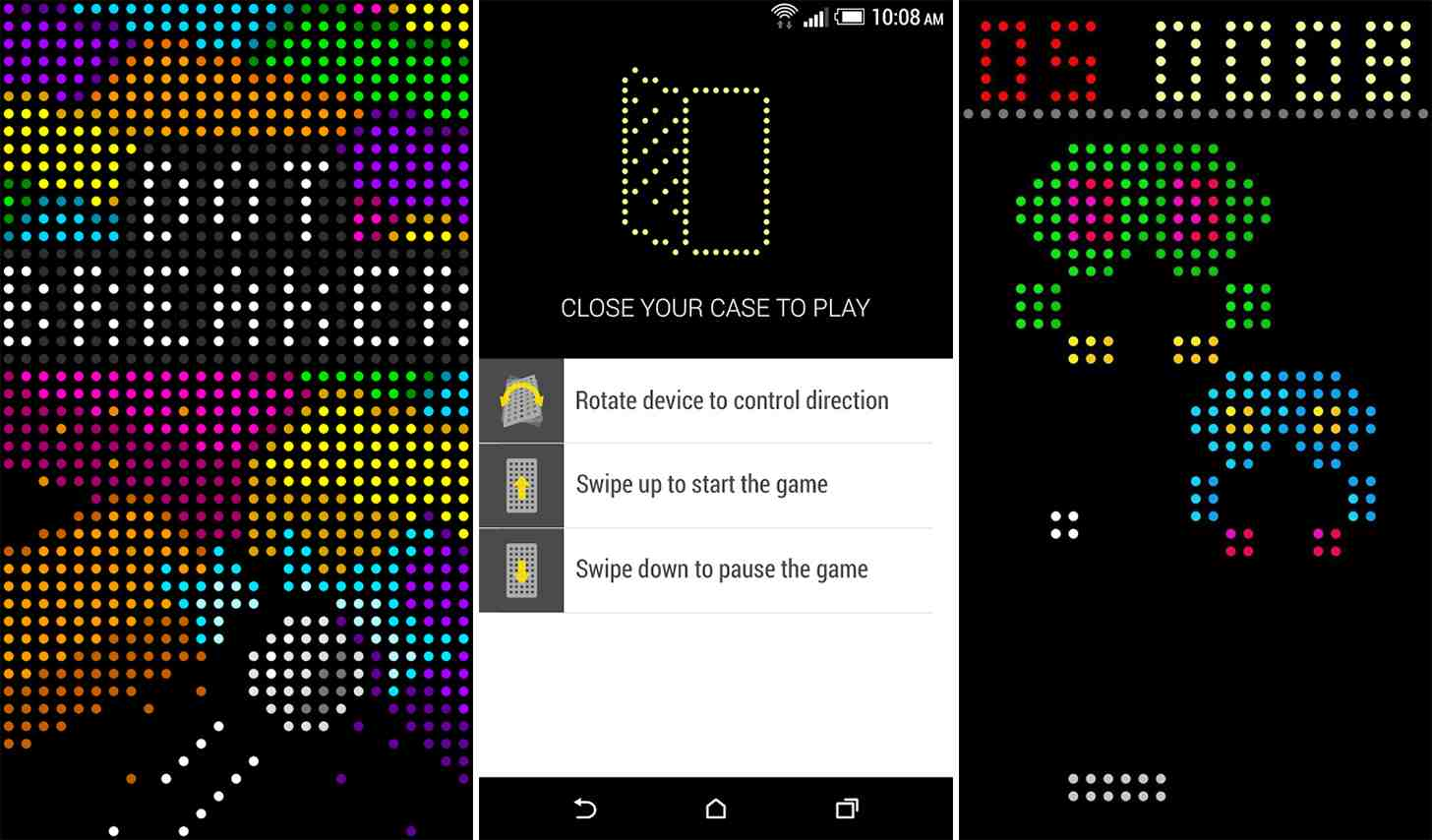 htc updates dot view app with support for games messages and more