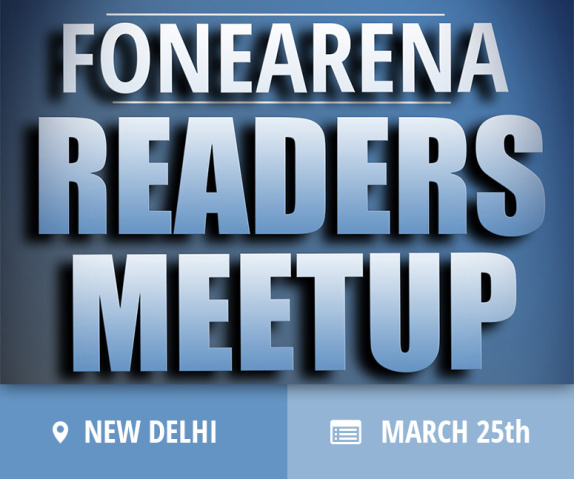 FoneArena's next readers meet is happening in Delhi and will be powered by Intel