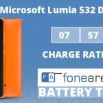 Microsoft Lumia 532 Dual SIM FA One Charge Rating
