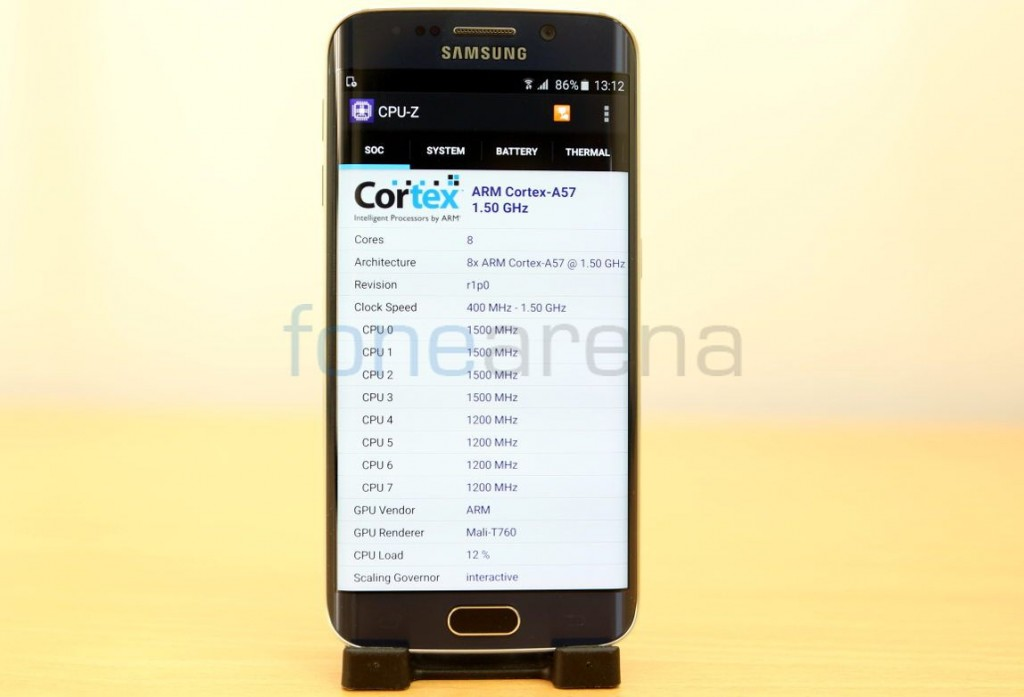 Samsung Galaxy S6 Edge Benchmarks_fonearena