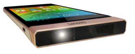Lenovo Smart Cast Laser Projector Smartphone Concept Turns