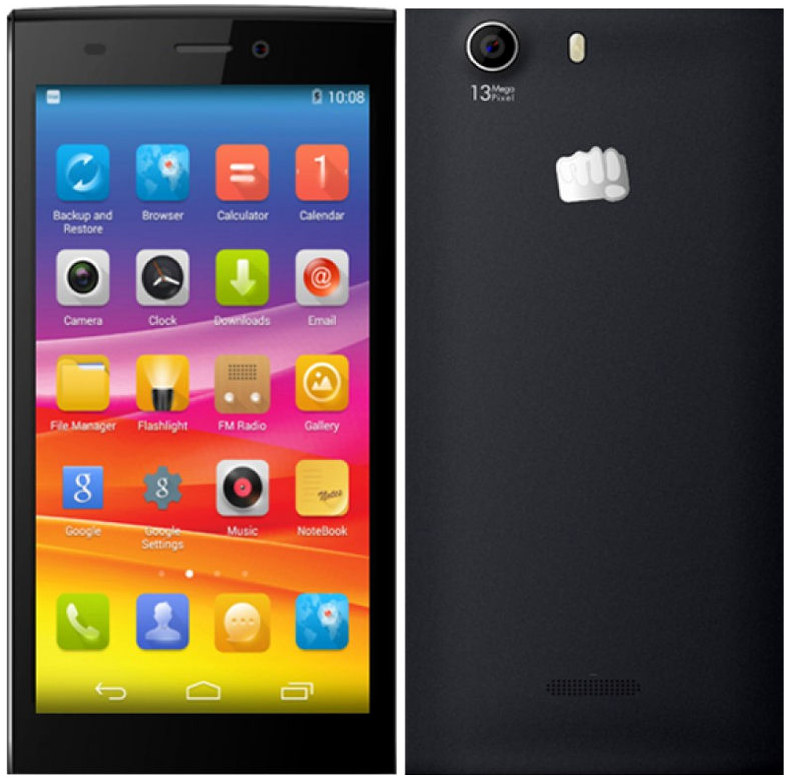 Micromax Canvas Nitro 2 E311 With 5-inch HD Display, Octa