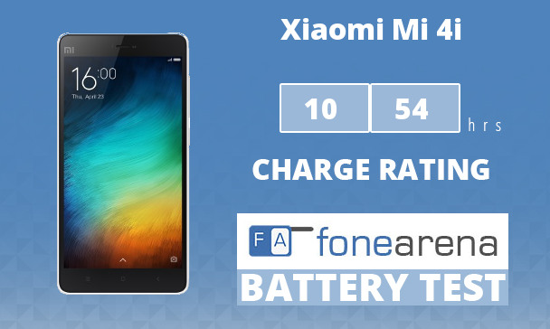 Xiaomi Mi 4i FA One Charge Rating