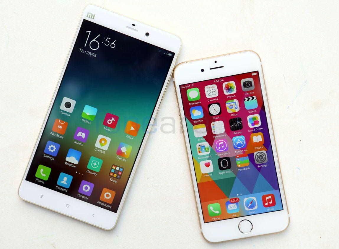 Iphone X Vs Mi 6 Pro