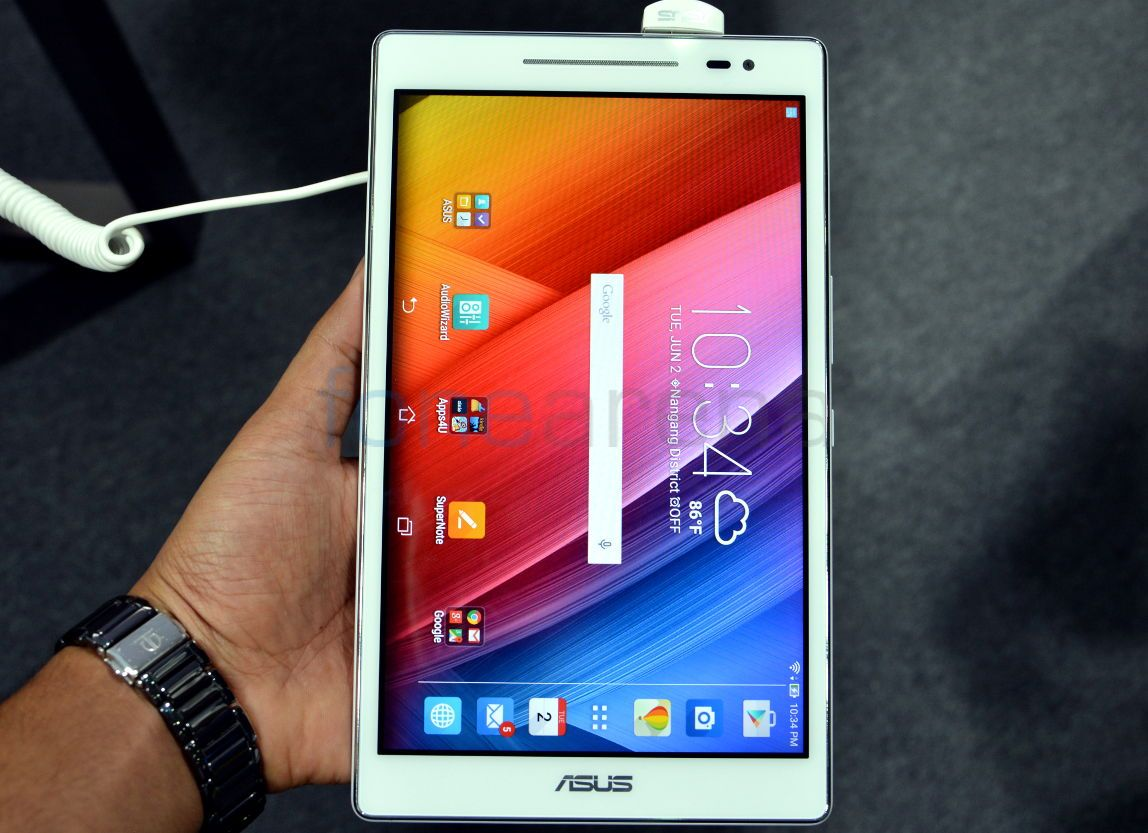 Asus Zenpad 8 0 Hands On And Photo Gallery