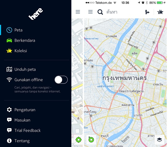 HERE Maps for iOS gets support for more 49 languages