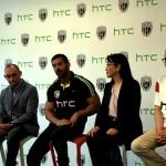 HTC NorthEast United FC John Abraham